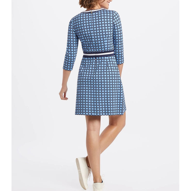 3/4 Sleeve Persley Ponte Dress