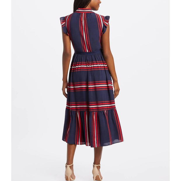 Collection Striped Midi Shirtdress