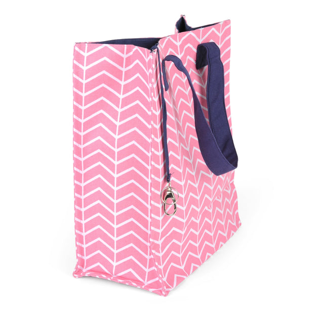 Shopper Tote with Key Ring