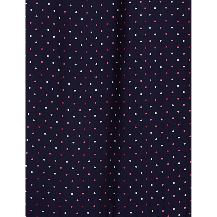 Multi Dot Popover Dress
