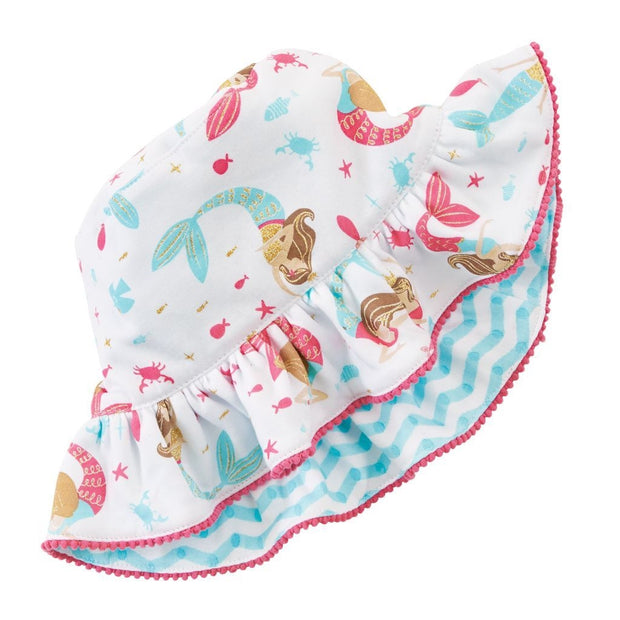 Toddler Mermaid Reversible Hat 2-5T