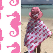 Baby/Kids Hooded Upf 50+ Sunscreen Towel