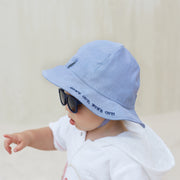 Boys Infant Sun Hat and Sunglasses Set
