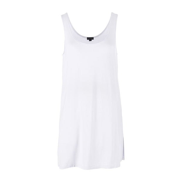 Easy Chic Side Slit Long Tank