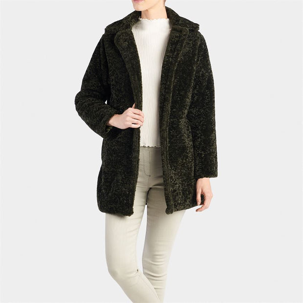 Nico Faux Lamb Fur Coat