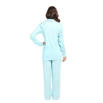 Cotton Satin Pajamas Set