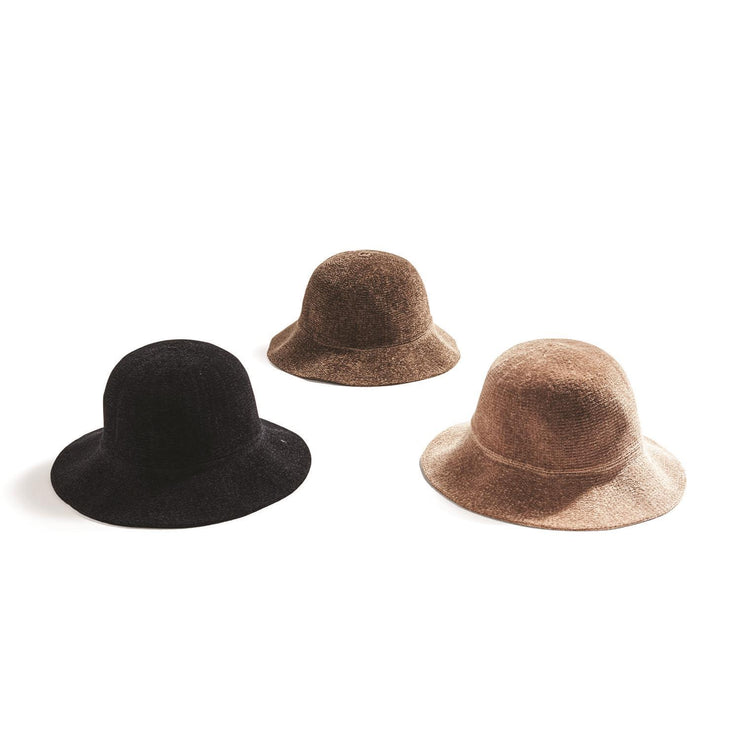 Chenille Bucket Hat