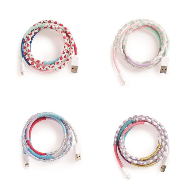 Multicolor USB Charging Cable