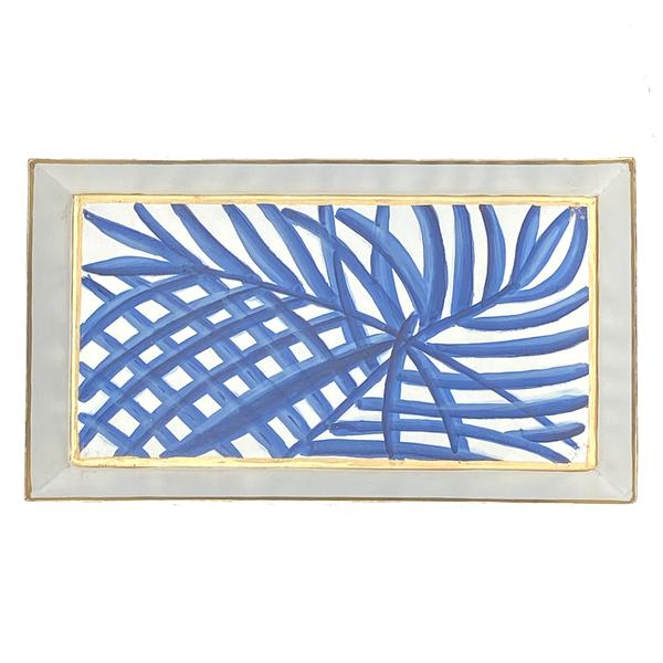 Palm Guest Towel Tray