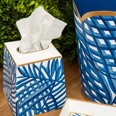 Palm Tissue Box Cover