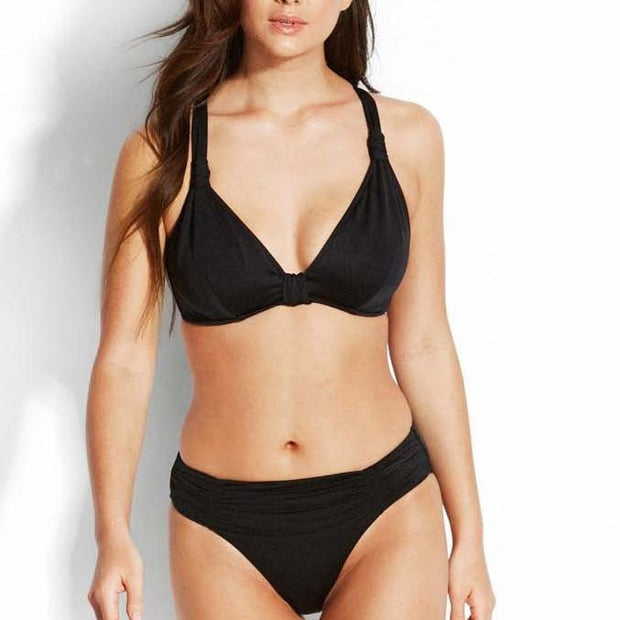 Shine On F Cup Halter Bikini Top