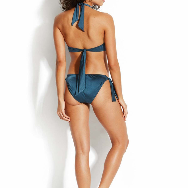Shine On Hipster Tie Side Bikini Bottom