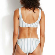 Sea Stripe Hipster Bikini Bottom