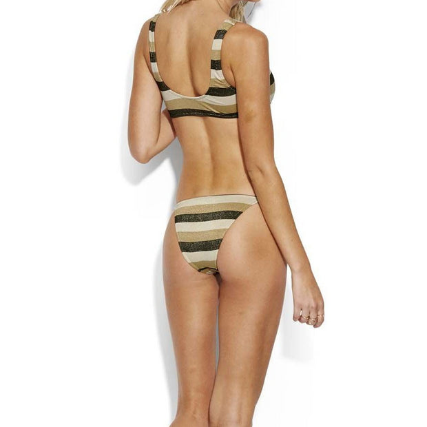 Sunset Stripe Rio Bikini Bottom