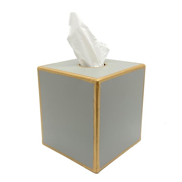 Color Block Tissue Box Cover