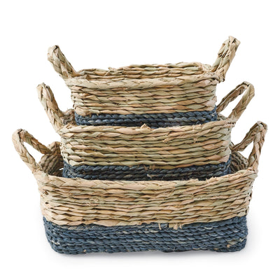 Blue Basket Set