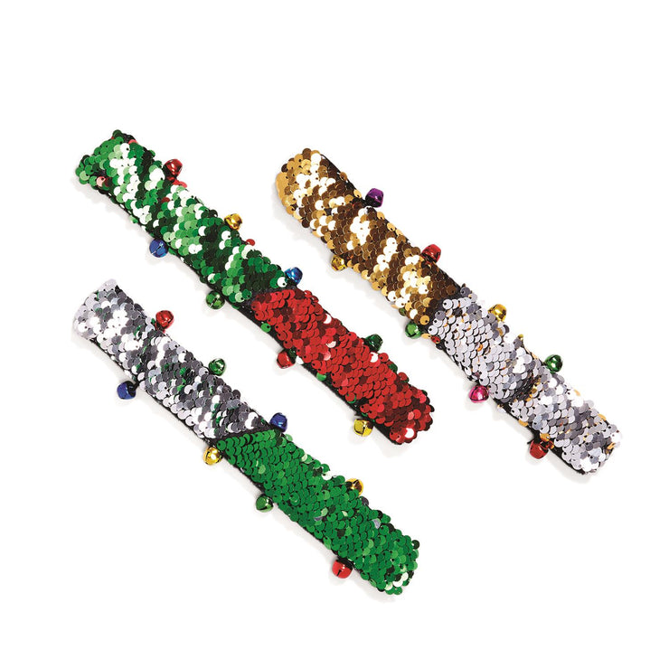 Christmas Sequin Bracelet