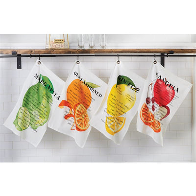 Drink Recipe Towels