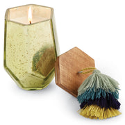 Colorful Mercury Glass Candles