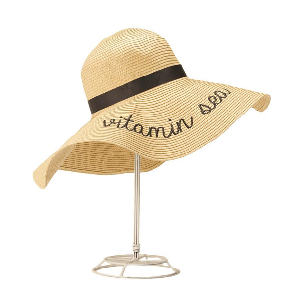 Sun Hat with Text