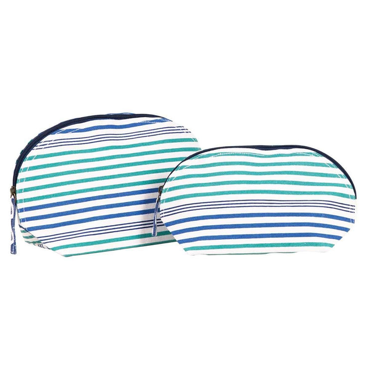 Stephanie Ocean Cosmetic Bag Set