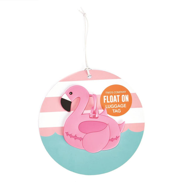 Float On Luggage Tag