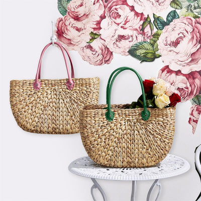 Carried Away Basket Tote Bag