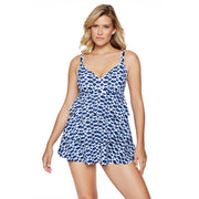 Indigo Cloud 3 Tier Swimdress