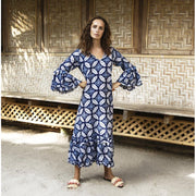Morocco Cotton Indi Long Dress