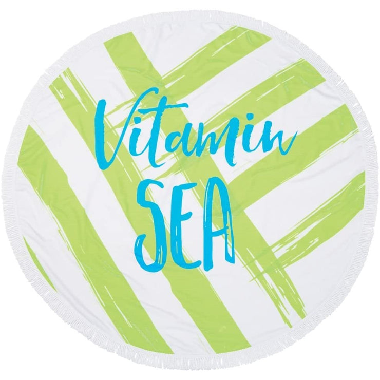 "60"" Round Beach Towel"