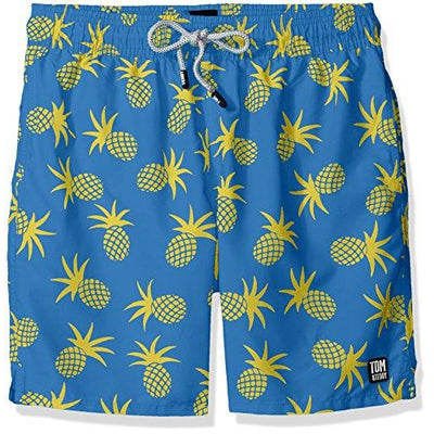 Men's Pineapple Swim Trunks