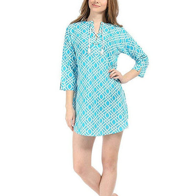 Eyelet Beach Cover Up