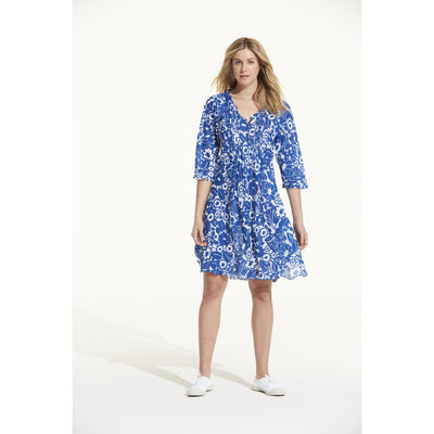 Lemnos Cotton Middy Poppy Dress
