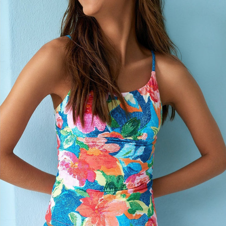 Superbloom Abby Tankini Top