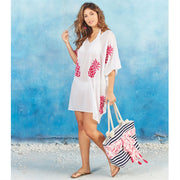 Elsa Boucle Pink Pineapple Cover Up