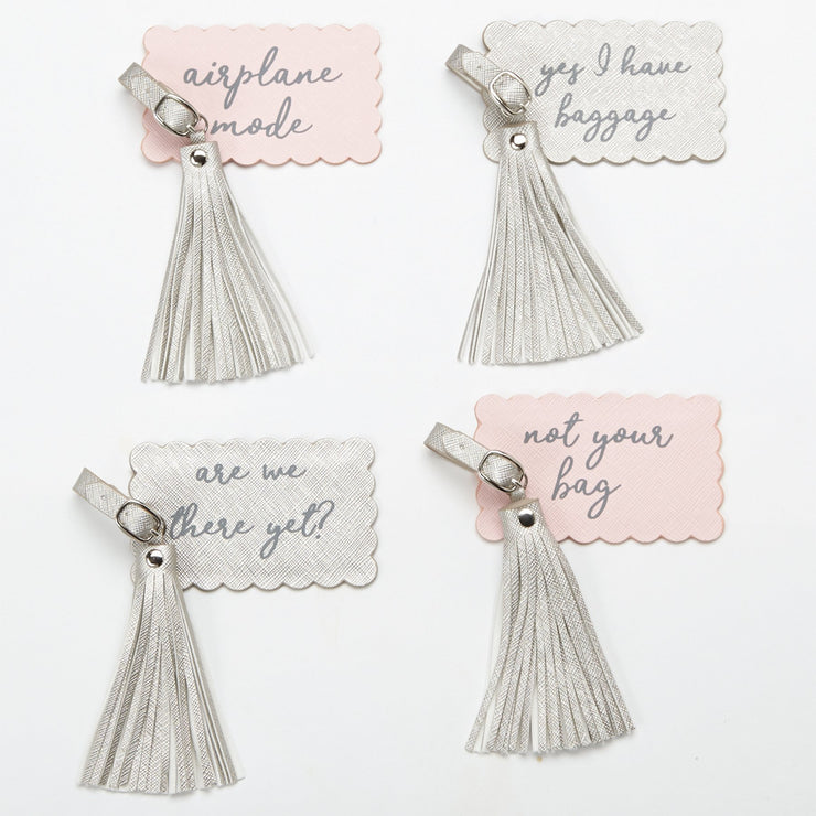 Tassel Luggage Tag