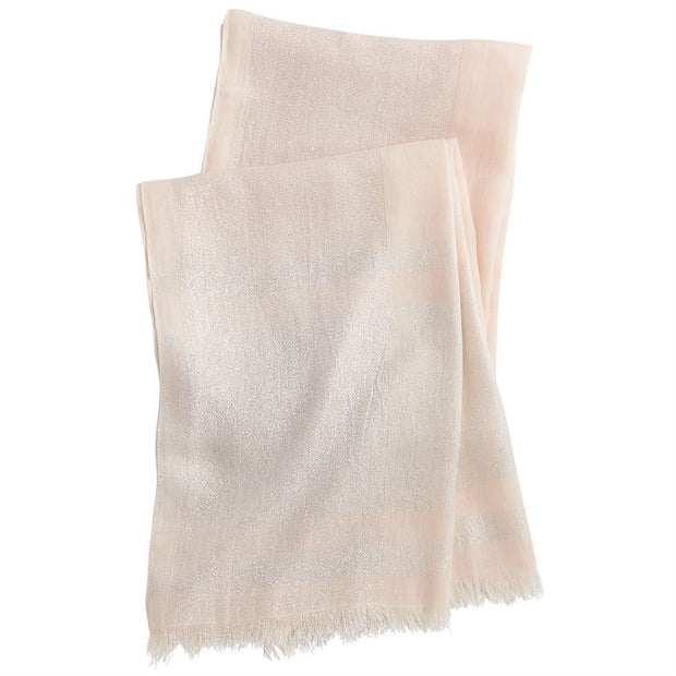 NEUTRAL SHIMMER SCARF