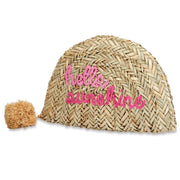 STRAW WORD CLUTCH