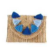 Metallic Jute Clutch