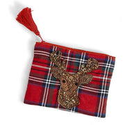Plaid Deer Pouches