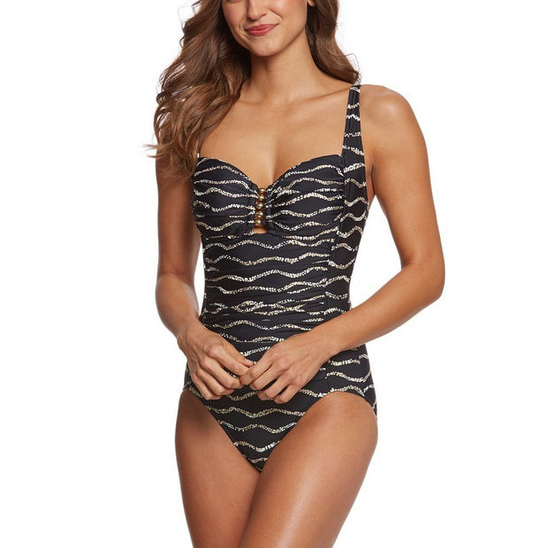 Desert Sands Beaded One Piece