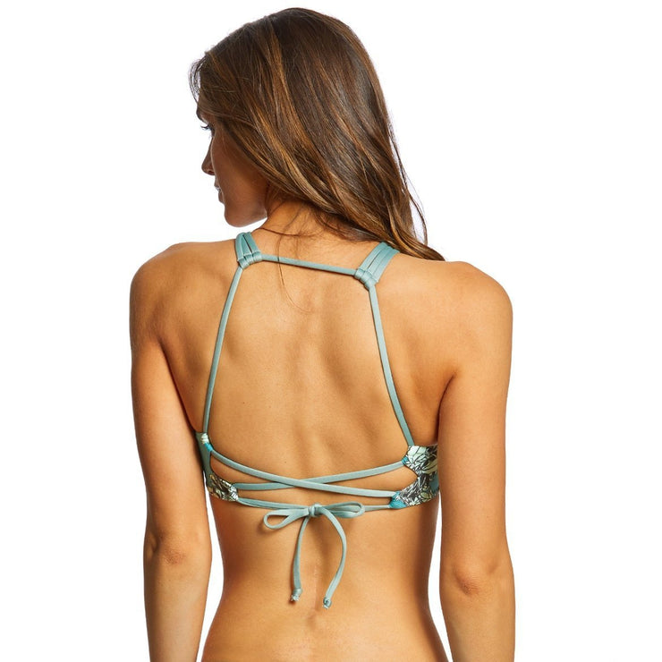 It's Knot Columbia High Neck Bikini Top