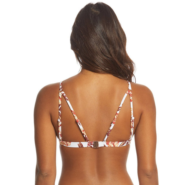 Dancing Tides Triangle Bikini Top