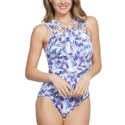 Nautical Fronds Multi Strap Mio One Piece