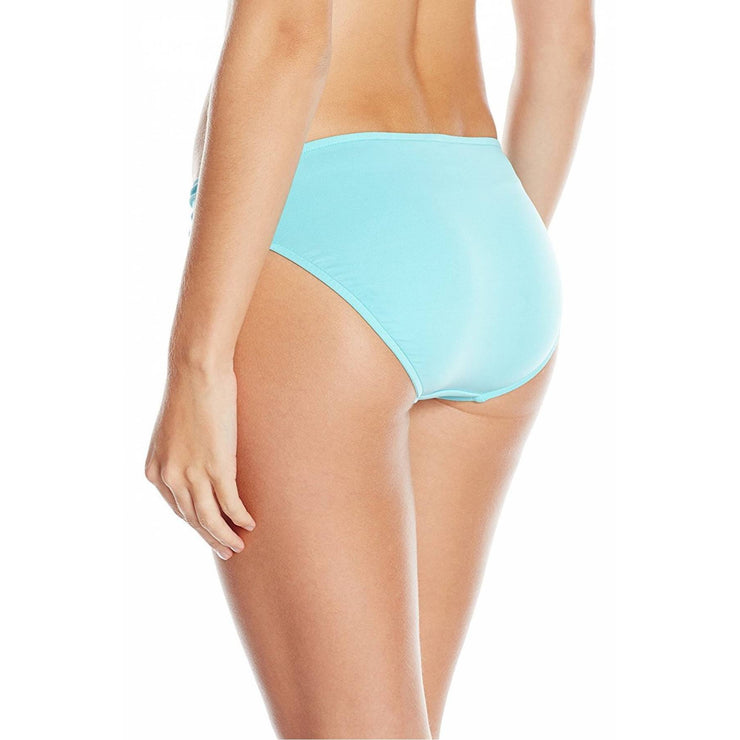 Solid Quilted Hipster Bikini Bottom