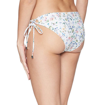 Botanical Garden Lace Up Bikini Bottom