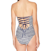 Nautical by Nature Cut Out Lace Back One Piece