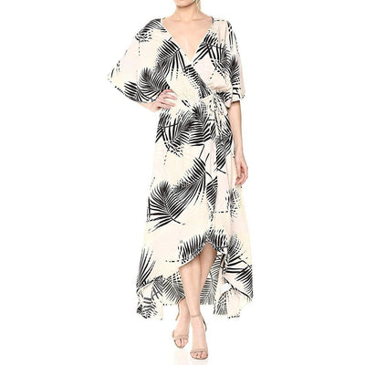 Isla Wrap Front Dress