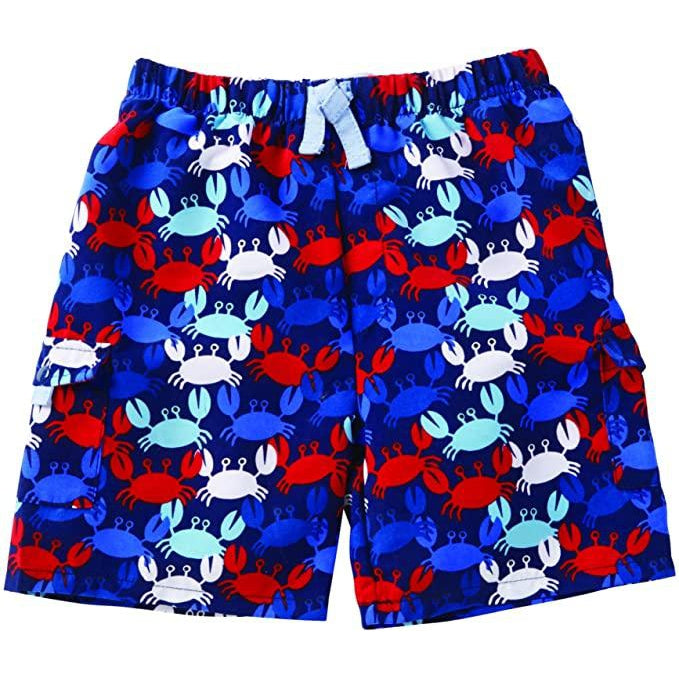 Boys Crab Swim Trunks