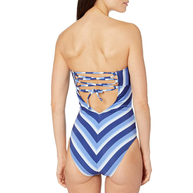 Parallel Bandeau One Piece